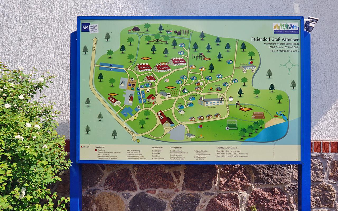 Flächenplan Groß Väter See