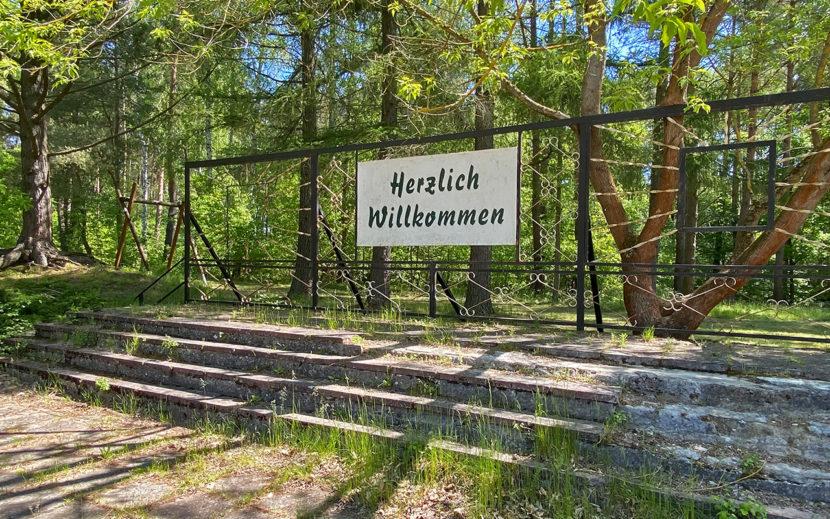 Ehemalige Freilichtbühne aus DDR Zeiten
