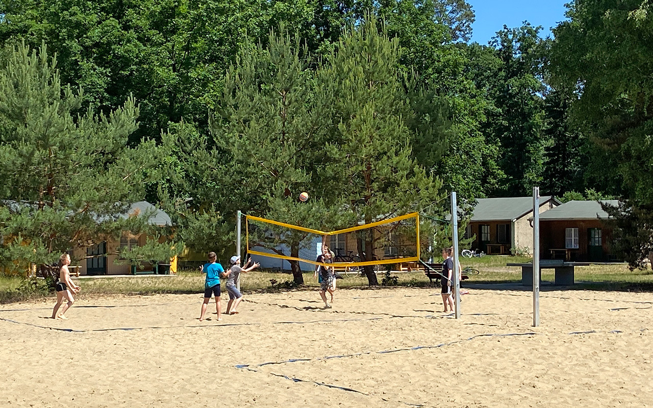 Beachvolleyball-Anlage